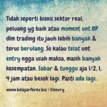 Trading Quote 02 – Psikologi Trading & Money Managament