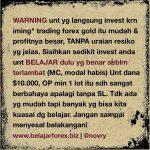 Trading Quote 04 – Psikologi Trading & Money Managament