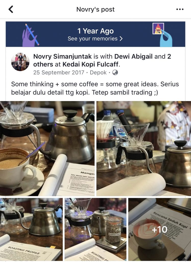 coffee shop trader