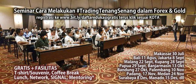 seminar forex gold